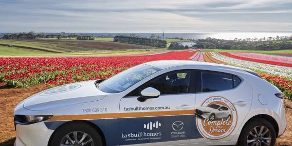 Our Mazda 3 is on the road – enjoying the best Tassie has to offer!